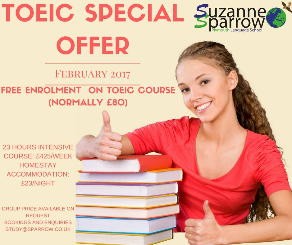 toeic special offer sparrow.co.uk